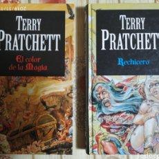 Libros de segunda mano: 2 LIBROS TERRY PRATCHETT. Lote 183409597