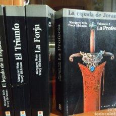 Libros de segunda mano: LA ESPADA DE JORRAM, LIBROS 1,2,3,4.. Lote 183416095