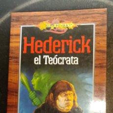 Libros de segunda mano: DRAGONLANCE. HEDERICK EL TEOCRATA - ELLEN DODGE SEVERSON. TIMUN MAS. Lote 183610978