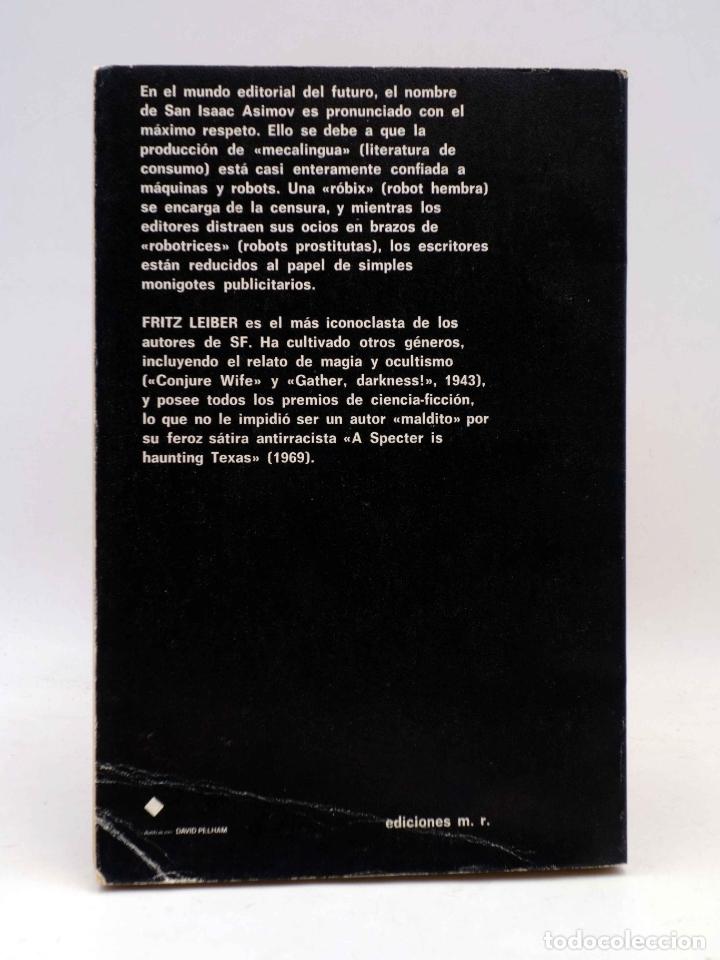 Libros de segunda mano: SUPER FICCIÓN 8. LOS CEREBROS PLATEADOS (Fritz Leiber) Martínez Roca, 1981 - Foto 2 - 183671322