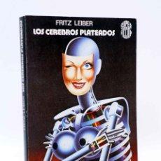 Libros de segunda mano: SUPER FICCIÓN 8. LOS CEREBROS PLATEADOS (FRITZ LEIBER) MARTÍNEZ ROCA, 1981. Lote 183671322