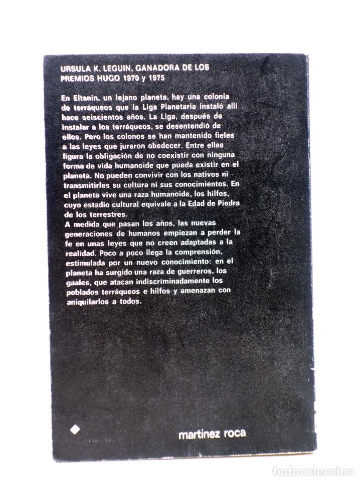 Libros de segunda mano: SUPER FICCIÓN 49. PLANETA DE EXILIO (Ursula K. Le Guin) Martínez Roca, 1979 - Foto 2 - 183671340