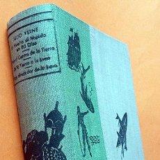 Libros de segunda mano: LA VUELTA AL MUNDO EN 80 DIAS/VIAJE AL CENTRO DE LA TIERRA/DE LA TIERRA A LA LUNA/+ 1- JULIO VERNE. Lote 183850607