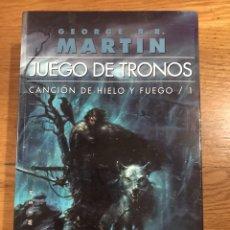 Libros de segunda mano: JUEGO DE TRONOS CEORGE R. R. MARTIN. Lote 183913872