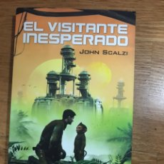Libros de segunda mano: EL VISITANTE INESPERADO JOHN SCALZI. Lote 183914022