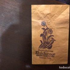 Libros de segunda mano: EL DEFENSOR. PEDRO SALINAS. ALIANZA TRES. Lote 183921427