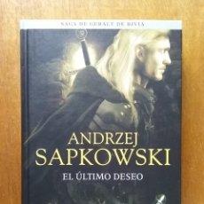 Libros de segunda mano: EL ULTIMO DESEO, ANDRZEJ SAPKOWSKI, SAGA DE GERALT DE RIVIA, ALAMUT, 2018. Lote 184019513