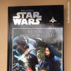 Libros de segunda mano: BIBLIOTECA STAR WARS - MEDSTAR 1 MÉDICOS DE GUERRA - PLANETA D'AGOSTINI 2009 EN ESPAÑOL. Lote 184270520