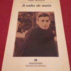 Libros de segunda mano: A SALTO DE MATA – PAUL AUSTER . Lote 184555305