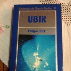 Libros de segunda mano: UBIK - PHILIP K.DICK - BIBLIOTECA DE CIENCIA FICCION N.17 - ORBIS 1985. Lote 184577453