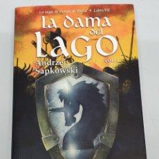 Libros de segunda mano: LA DAMA DEL LAGO VOL 1 - SAGA GERALT DE RIVIA Nº 7 / ANDRZEJ SAPKOWSKI / BIBLIOPOLIS. Lote 184721580