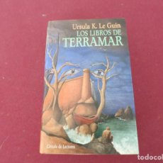 Libros de segunda mano: LOS LIBROS DE TERRAMAR URSULA K LEGUIN LE GUIN FANTASIA CIRCULO LECTORES. Lote 184770190