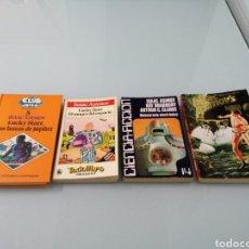 Libros de segunda mano: ASIMOV. LUCKY STARR.LUNAS DE JUPITER, RANGER DEL ESPACIO. DEMOCRACIA ELECTRÓNICA REVISTA 4 CIENCIA F. Lote 185693905