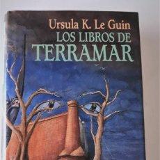 Libros de segunda mano: URSULA K. LE GUIN: LOS LIBROS DE TERRAMAR. Lote 185894971