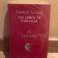 Libros de segunda mano: LOS LIBROS DE TERRAMAR URSULA K. LE GUIN IV TEHANU. Lote 185994530