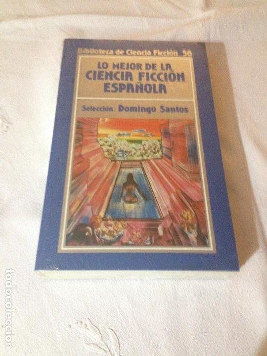 LO MEJOR DE LA CIENCIA FICCION ESPAÑOLA - BIBLIOTECA DE CIENCIA FICCION N.56- ORBIS 1985 - SIN ABRIR (Libros de Segunda Mano (posteriores a 1936) - Literatura - Narrativa - Ciencia Ficción y Fantasía)