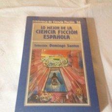 Livres d'occasion: LO MEJOR DE LA CIENCIA FICCION ESPAÑOLA - BIBLIOTECA DE CIENCIA FICCION N.56- ORBIS 1985 - SIN ABRIR. Lote 187212215