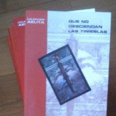 Libros de segunda mano: LOTE DE 15 NOVELAS COLECCION AELITA - PULP EDICIONES, CIENCIA FICCION - COLECCION COMPLETA. Lote 187399180