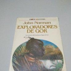 Libri di seconda mano: LIBRO PRECINTADO EXPLORADORES DE GOR JHON NORMAN LOS SECRETOS DEL CONTINENTE DE GOR. Lote 187517868