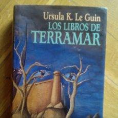 Libros de segunda mano: LIS LIBROS DE TERRAMAR. TRILOGÍA. URSULA K. LE GUIN. Lote 190695682