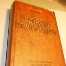 Libros de segunda mano: LEYENDAS DE LA DRAGON LANCE. M WEIS Y T HICKMAN TIMUNMAS 2003 1311 PÁG TAPA DURA (BUEN ESTADO). Lote 190778557