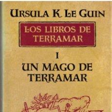 Libros de segunda mano: LOS LIBROS DE TERRAMAR I: UN MAGO DE TERRAMAR - URSULA K. LE GUIN; MINOTAURO. Lote 191195090