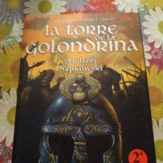 Libros de segunda mano: LA TORRE DE LA GOLONDRINA. GERALT DE RIVIA VI - ANDRZEJ SAPKOWSKI. BIBLIOPOLIS. Lote 191758255