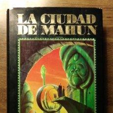 Libros de segunda mano: LA CIUDAD DE MAHUN. GIL ALDERMAN. 1990. TIMUN MAS. Lote 193429518