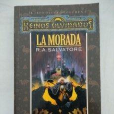 Libros de segunda mano: REINOS OLVIDADOS EL ELFO OSCURO VOL I/LA MORADA/TIMUN MAS.. Lote 227241670