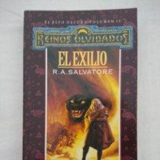 Libros de segunda mano: REINOS OLVIDADOS EL ELFO OSCURO VOL II/EL EXILIO/TIMUN MAS.. Lote 227241785