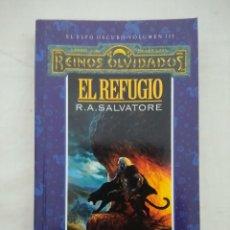 Libros de segunda mano: REINOS OLVIDADOS EL ELFO OSCURO VOL III/EL REFUGIO/TIMUN MAS.. Lote 227241925