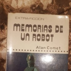 Libros de segunda mano: LIBRO MEMORIAS DE UN ROBOT. Lote 194227196