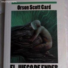 Libros de segunda mano: ORSON SCOTT CARD. EL JUEGO DE ENDER.. Lote 194234121