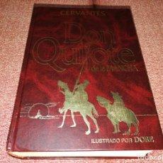 Libros de segunda mano: DON QUIJOTE DE LA MANCHA CERVANTES ALBOR LIBROS ILUSTRADO POR DORE 2005 ISBN 84-95921-62-6. Lote 194260680