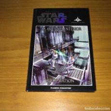 Libros de segunda mano: STAR WARS LA AMENAZA INTERIOR JUDE WATSON PLANETA DE AGOSTINI. Lote 194359506