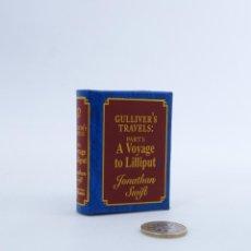 Libros de segunda mano: MINI JOYAS LITERARIAS. GULLIVER'S TRAVELS A VOYAGE TO LILLIPUT (J. SWIFT) DEL PRADO, 2003. OFRT. Lote 194368695