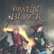 Libros de segunda mano: OWEN BLACK Y EL RENACER DE LOS LICANTROPOS , JOSÉ MIGUEL OLMOS SANCHO. Lote 194386640