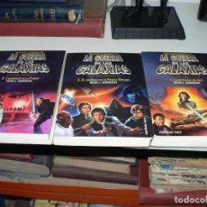 Libros de segunda mano: LA GUERRA DE LAS GALAXIAS TRILOGIA DE LA ACADEMIA JEDI COMPLETA. Lote 194387431