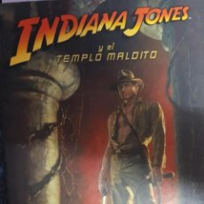 Libros de segunda mano: INDIANA JONES Y EL TEMPLO MALDITO. Lote 194391197