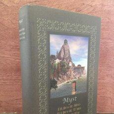 Libros de segunda mano: MYST (COMPLETA) - CIRCULO - TAPA DURA Y SOBRECUBIERTA - COMO NUEVO. Lote 194566721