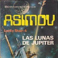 Libros de segunda mano: NOVELA COLECCION ASIMOV LAS LUNAS DE JUPITER. Lote 194567120