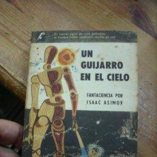 Libros de segunda mano: UN GUIJARRO EN EL CIELO, ISAAC ASIMOV. L.6922-624. Lote 194577210