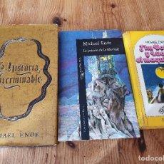 Libros de segunda mano: MICHAEL ENDE NOVELA. Lote 194688442