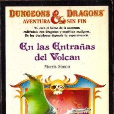 Libros de segunda mano: DUNGEONS & DRAGONS AVENTURA SIN FIN, Nº 17: EN LAS ENTRAÑAS DEL VOLCAN - TIMUN MAS. Lote 194690903