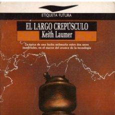 Libros de segunda mano: EL LARGO CREPUSCULO - KEITH LAUMER; JUCAR, ETIQUETA FUTURA. Lote 194690930