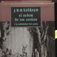 Libros de segunda mano: EL SEÑOR DE LOS ANILLOS 1 COMUNIDAD DEL ANILLO - J R R TOLKIEN - CIRCULO DE LECTORES. Lote 194858290