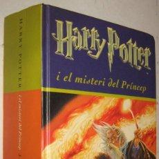 Libros de segunda mano: HARRY POTTER I EL MISTERI DEL PRINCEP - J.K.ROWLING - EN CATALAN. Lote 194872325