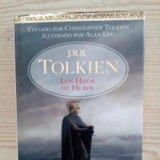 Libros de segunda mano: LOS HIJOS DE HURIN - TOLKIEN - MINOTAURO - TAPA DURA - 2007. Lote 194885125