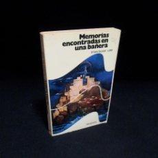 Libros de segunda mano: STANISLAW LEM - MEMORIAS ENCONTRADAS EN UNA BAÑERA - EDITORIAL BRUGUERA 1ª EDICION 1977. Lote 194885768