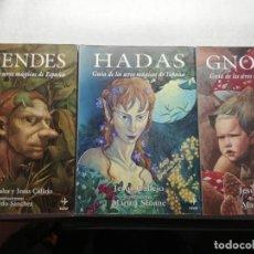Libros de segunda mano: GUIA DE SERES MÁGICOS DE ESPAÑA - DUENDES - HADAS - GNOMOS JESUS CALLEJO MARIA SEOANE MANUEL DIAZ. Lote 194908657